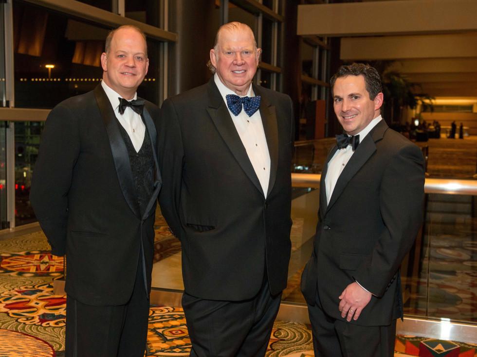 Rob Pierce, Paul Somerville and Crhis Bradshaw