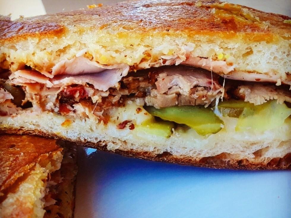 Leeland House Cuban sandwich