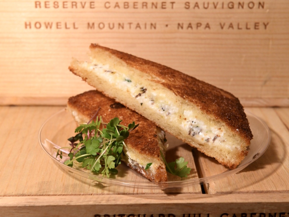 Houston, Truffle Masters, January 2018, grilled cheese hubbel hudson