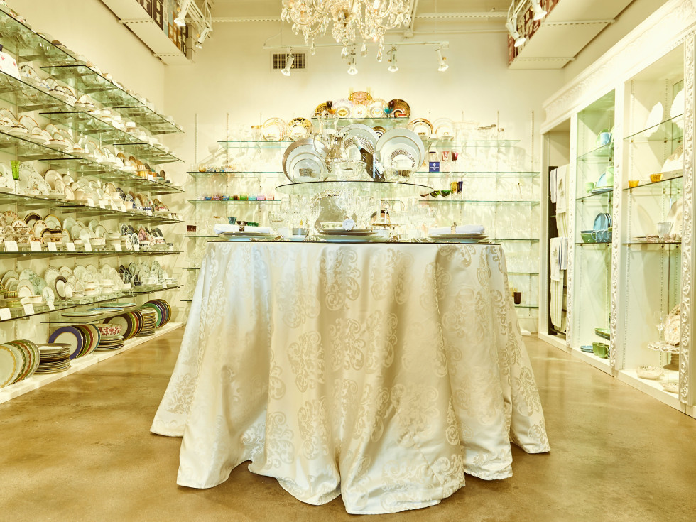Events interior flatware section