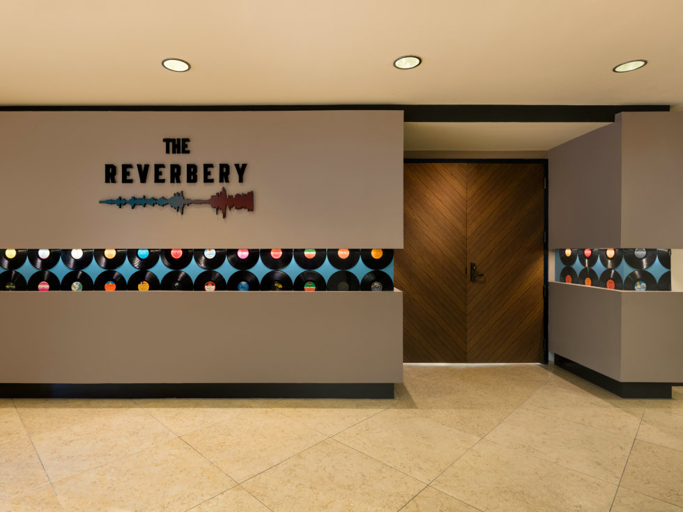 The Reverbery venue entrance