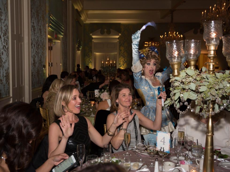 Houston, JLH Charity Ball, February 2018, champagne girls