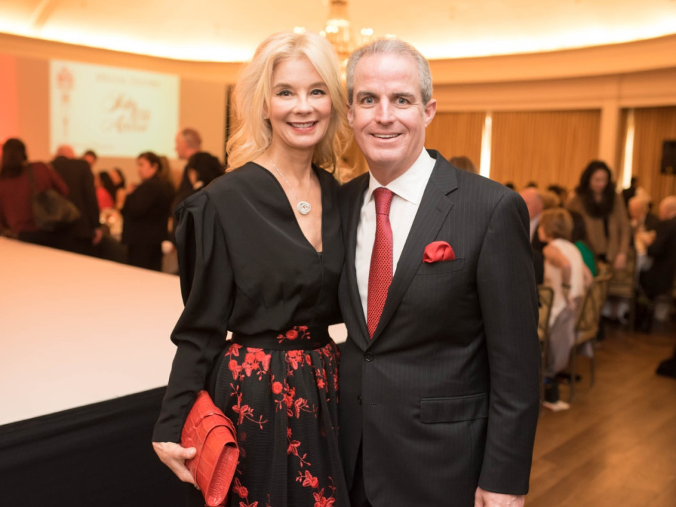 Houston, TCH Celebration of Champions, February 2018, Tena Faust, Tyson Faust
