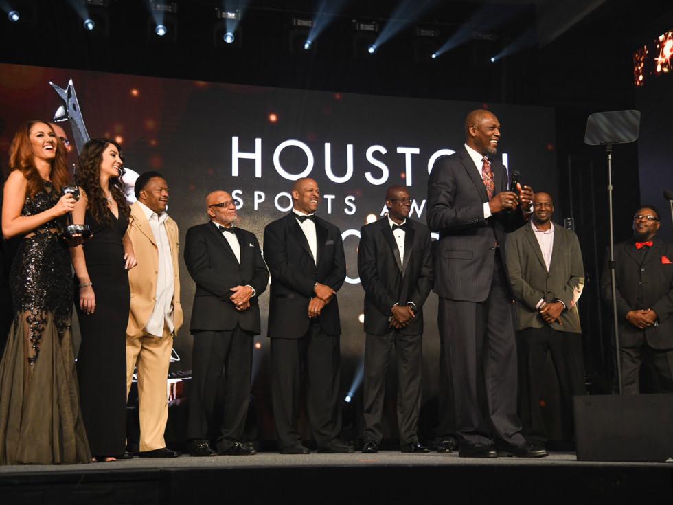 Hakeem Olajuwon Houston Sports Awards