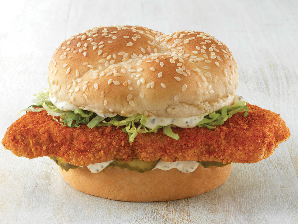 King's Hawaiian Nashville Hot Fish Deluxe Sandwich