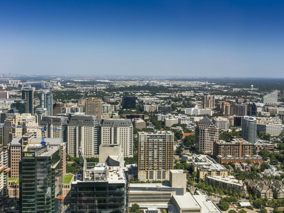 Uptown Dallas in 2016