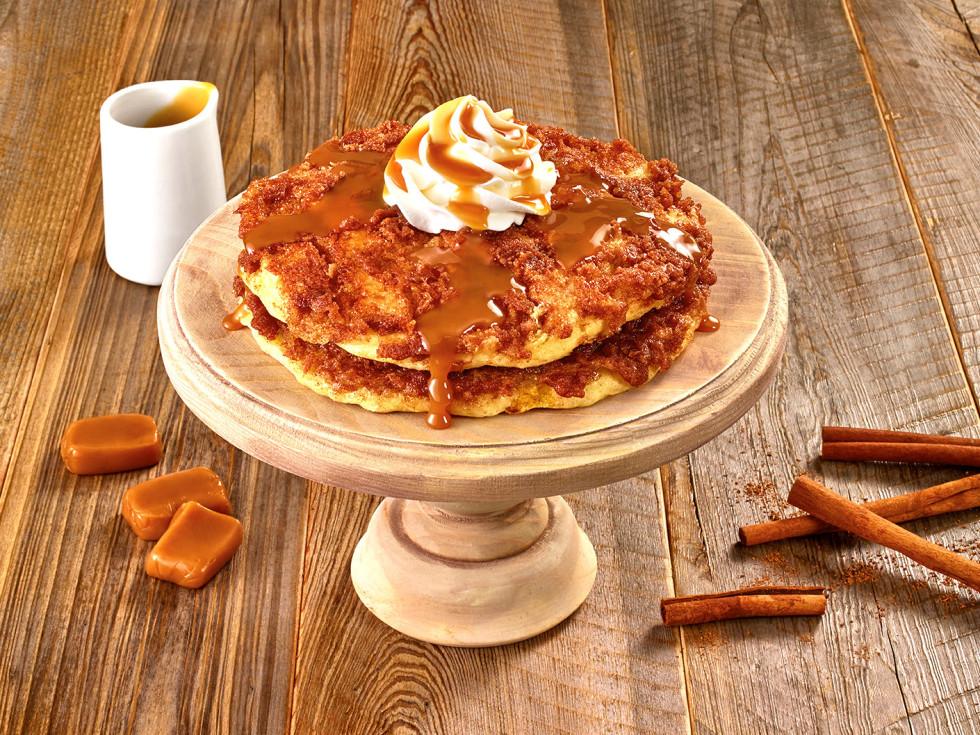 Drive-Thru Gourmet - Denny's dulce de leche pancakes