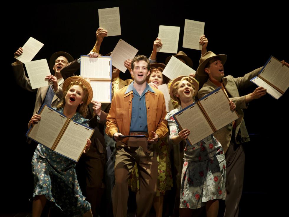 Broadway cast of Bright Star
