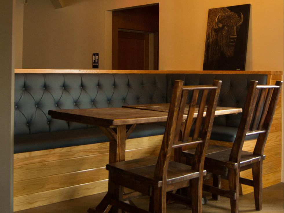 Oddwood Ales ATX banquettes