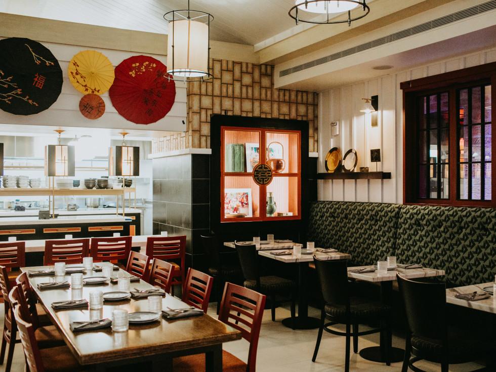 Fairmont Austin Revue Asian concept