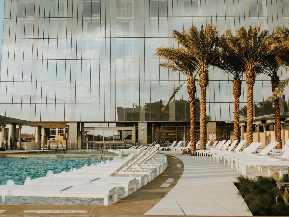 Fairmont Austin pool