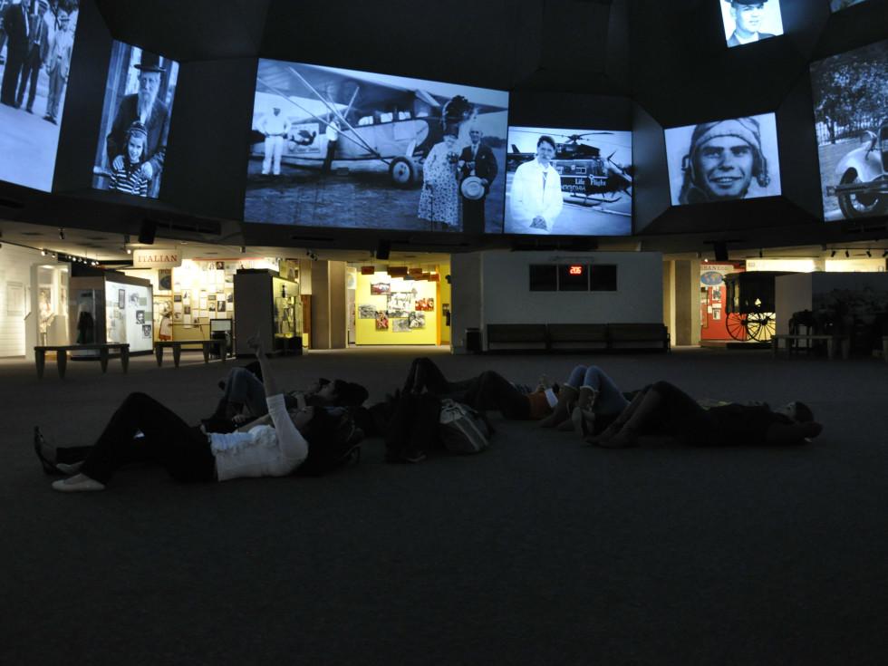 Institute of Texan Cultures interior