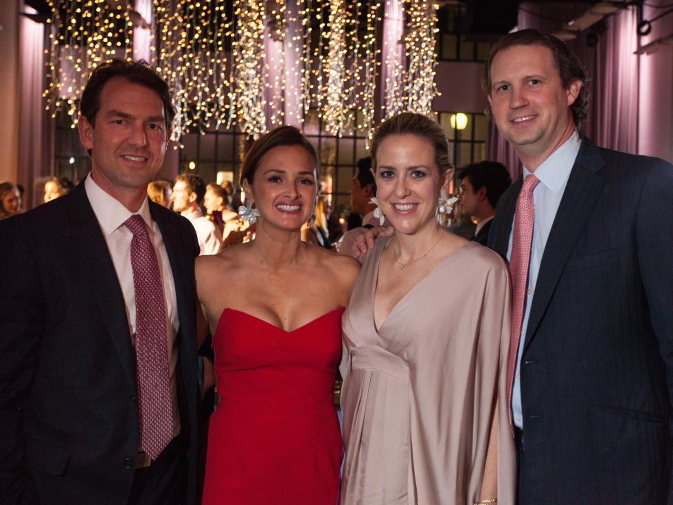 Todd and Melissa Mehall & Leigh and Michael Bornitz, TBT Gala 2018