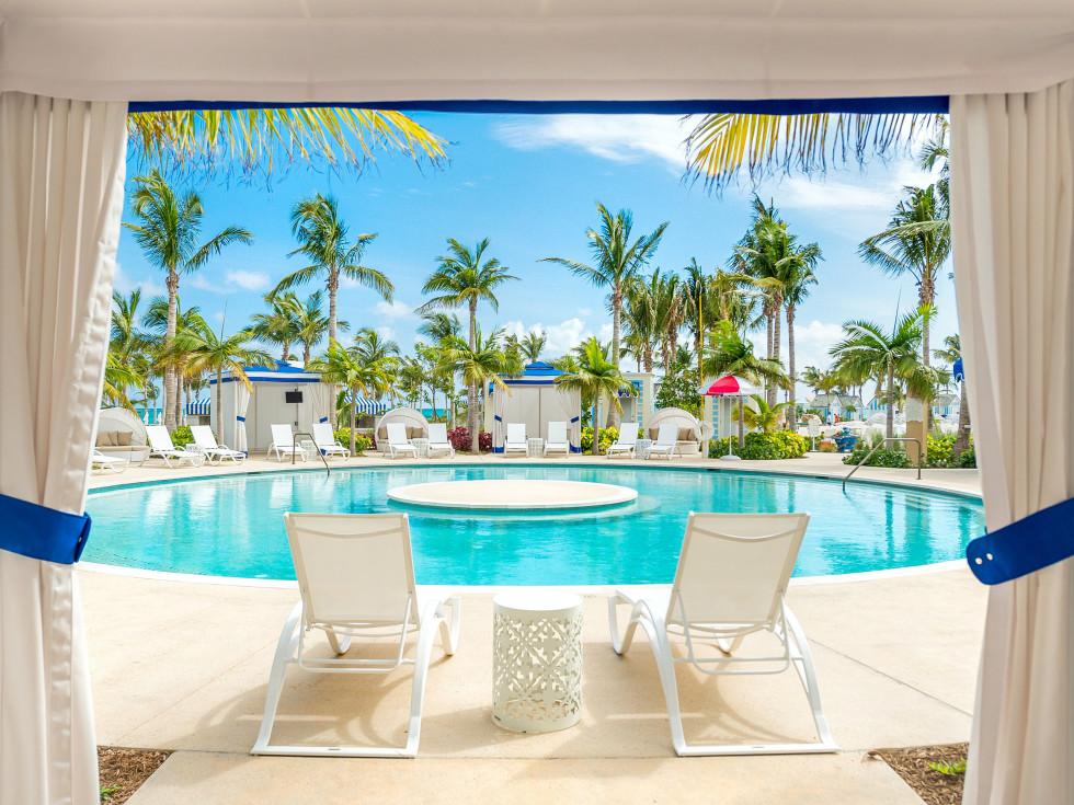 Bahamas Baha Mar cabana view
