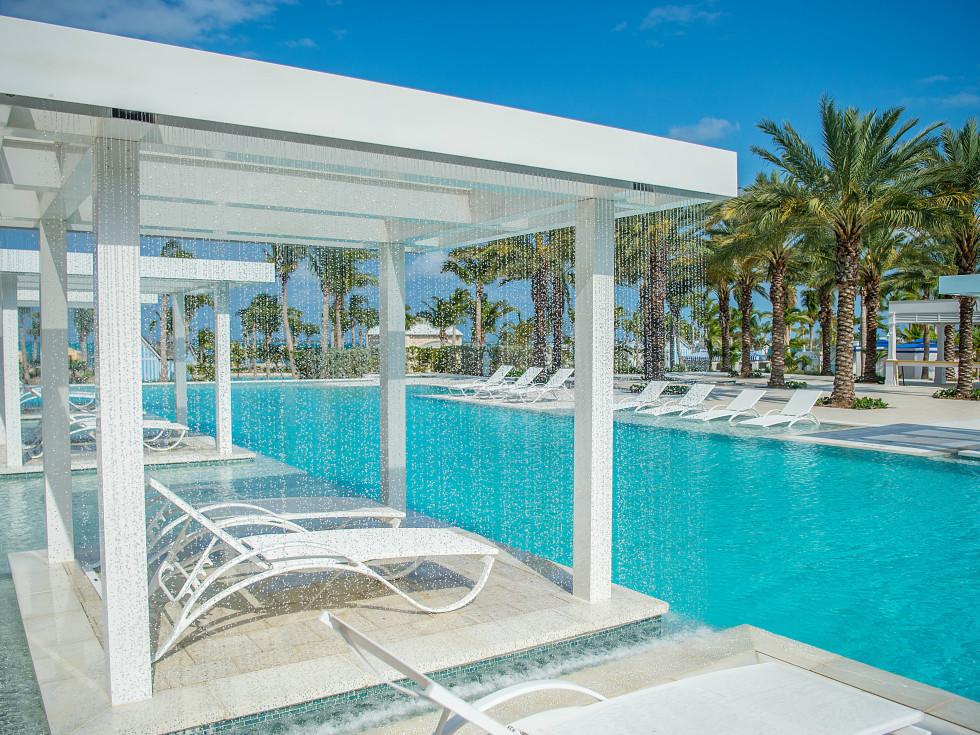 Bahamas Baha Mar rain cabanas
