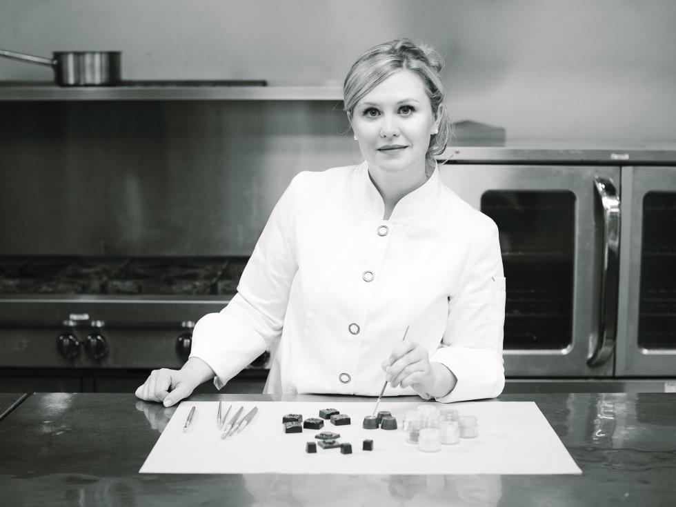 Chocolatier Maggie Callahan