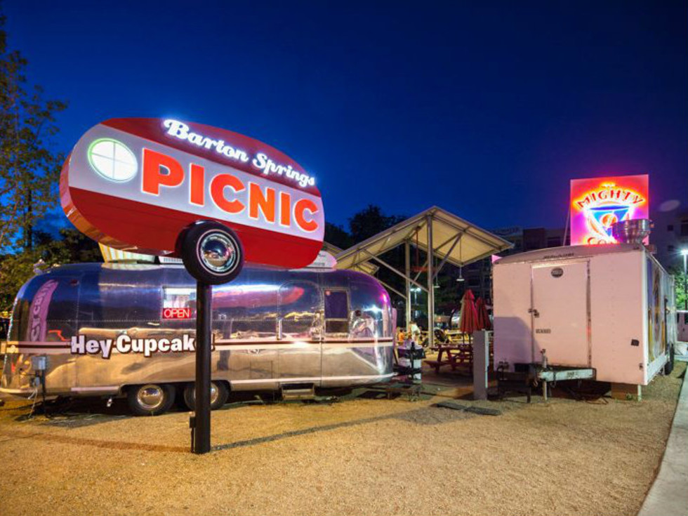 The Picnic food truck trucks park Austin