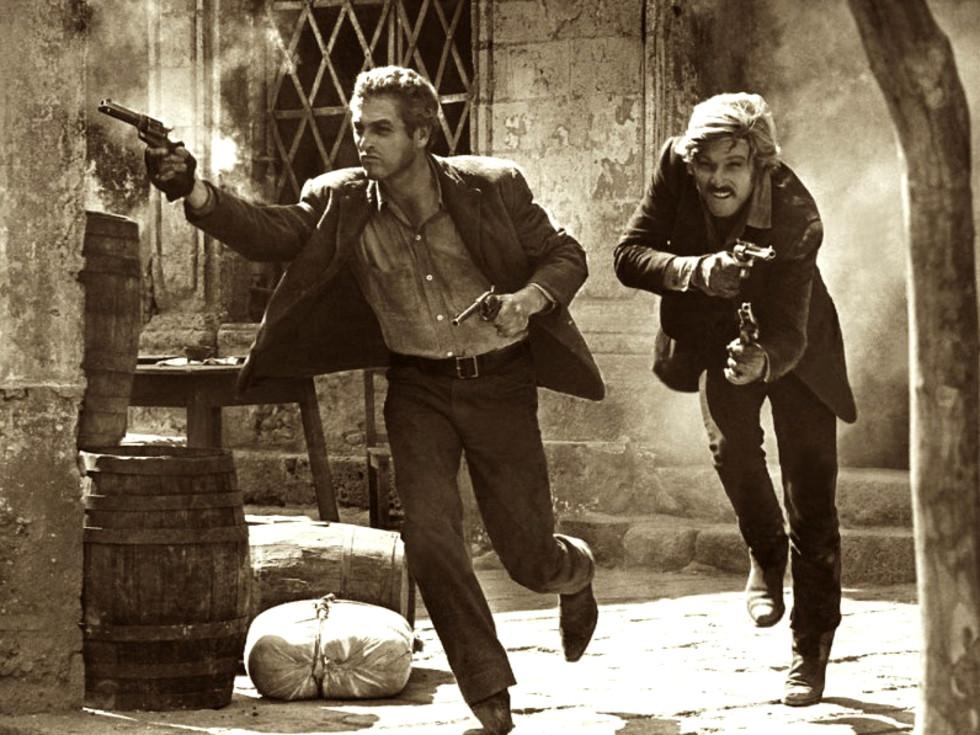 Weekend events Butch Cassidy Sundance Kid movie still