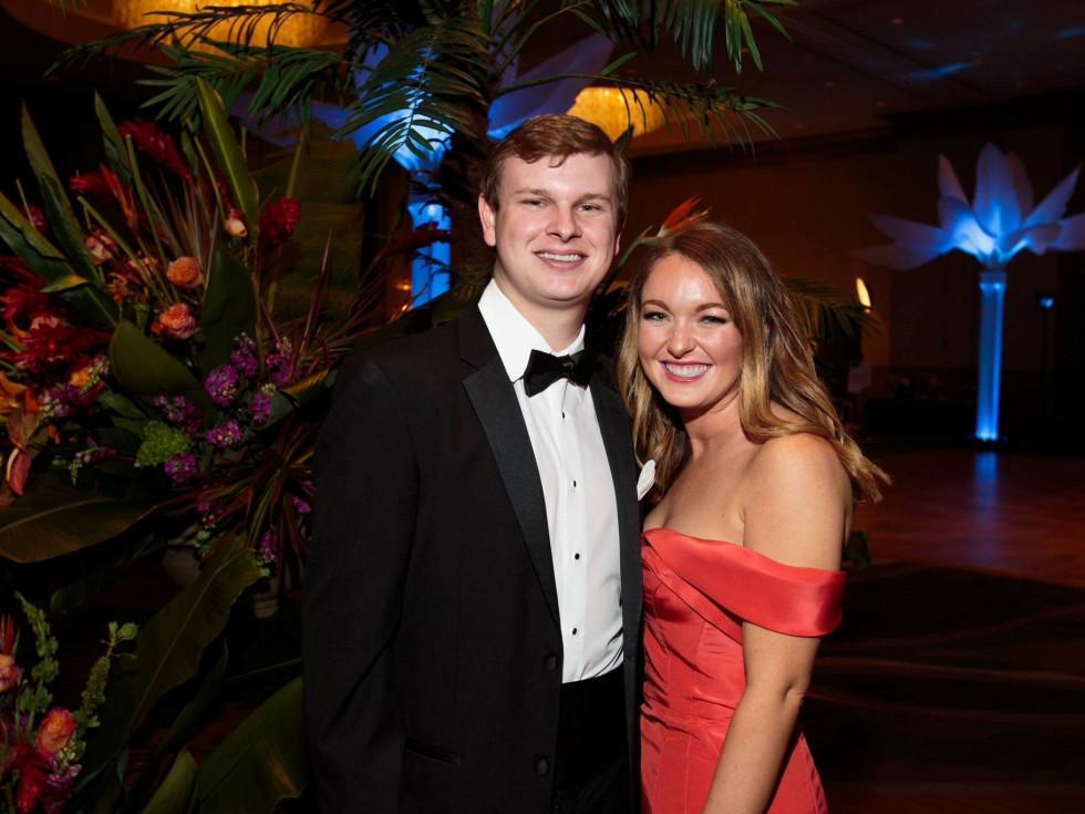 Andrew Taylor and Allison Mynard, Slipper Club Havana Nights 2018