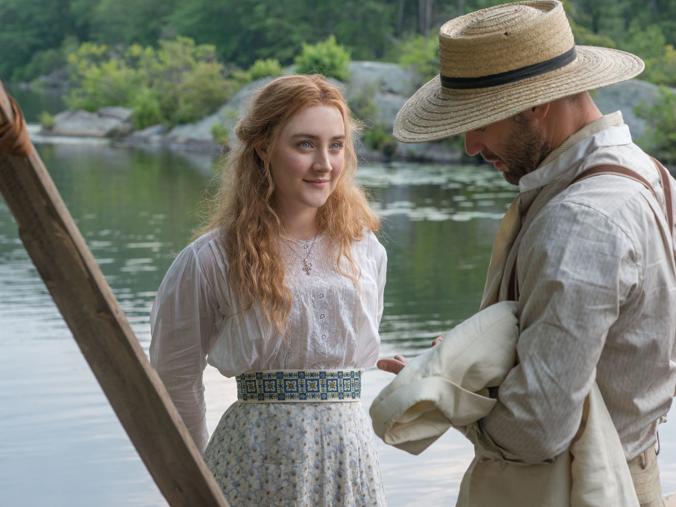 Saoirse Ronan and Corey Stoll in The Seagull