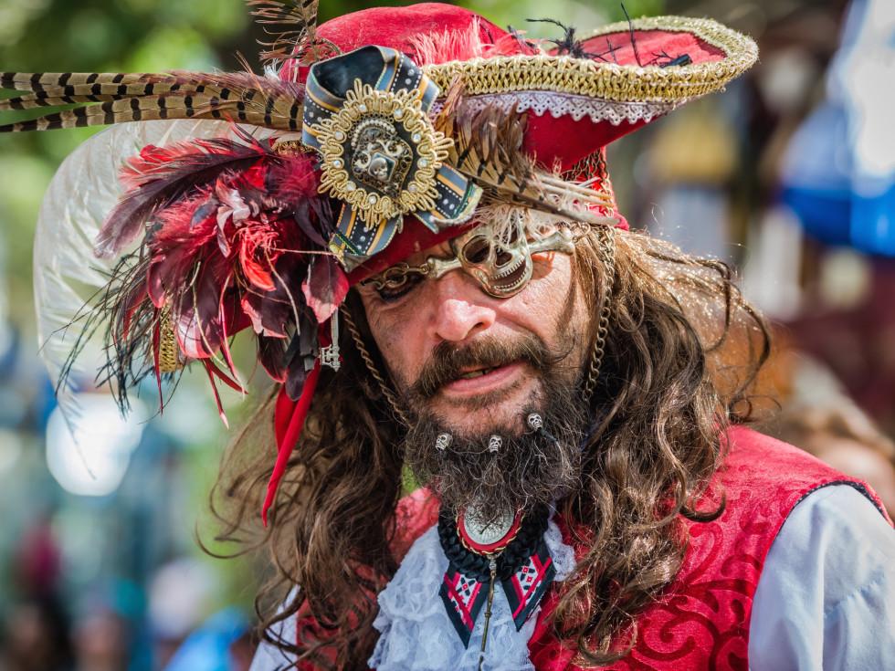 Texas Renaissance Festival pirate