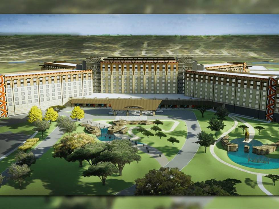 Round Rock African-themed resort