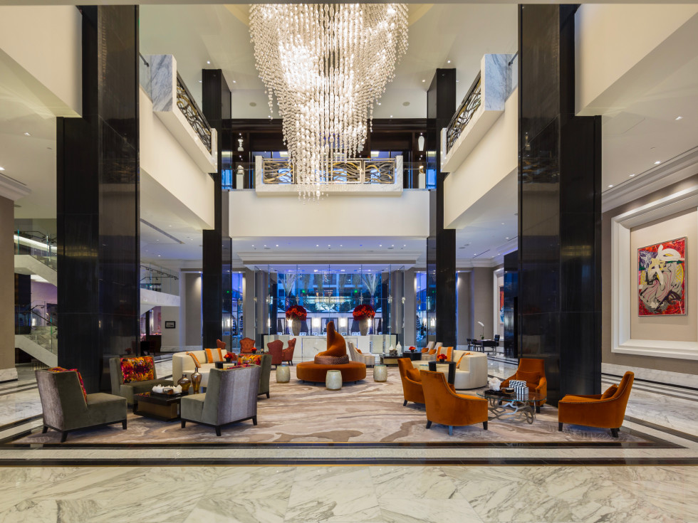 The Post Oak hotel lobby