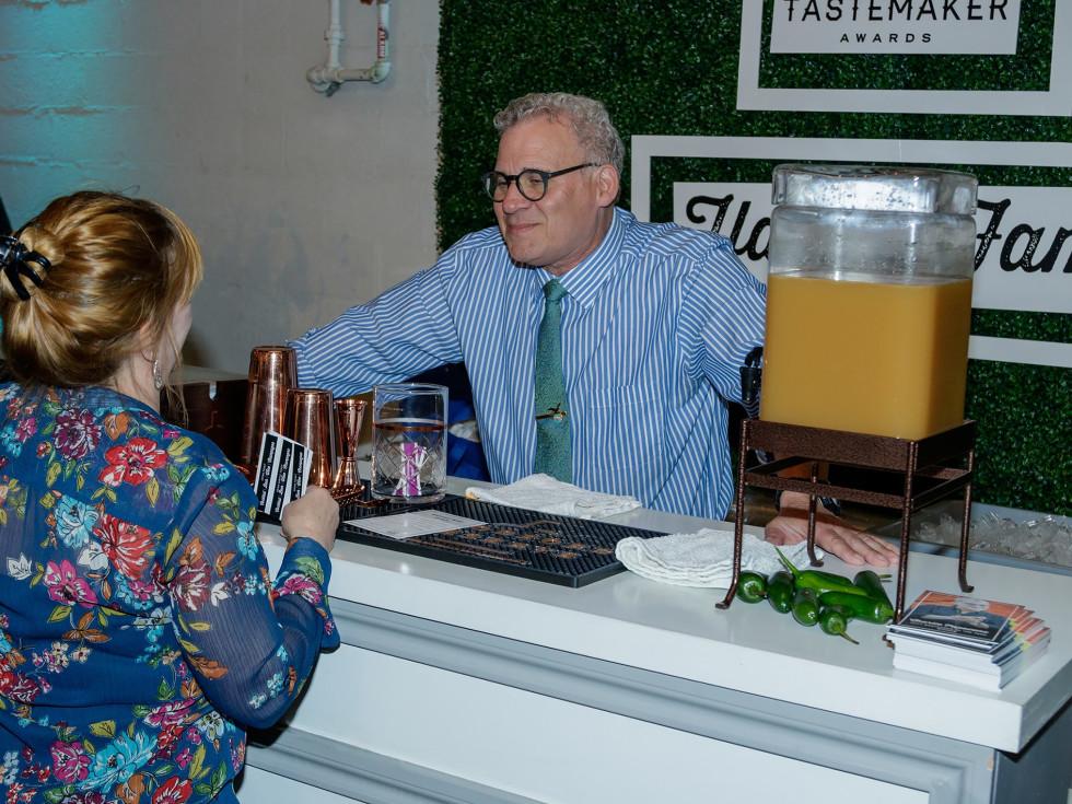 "Dallas Tastemaker Awards 2018, Tastemaker Hall of Fame corner, Charlie ""Pap"" Papaceno"