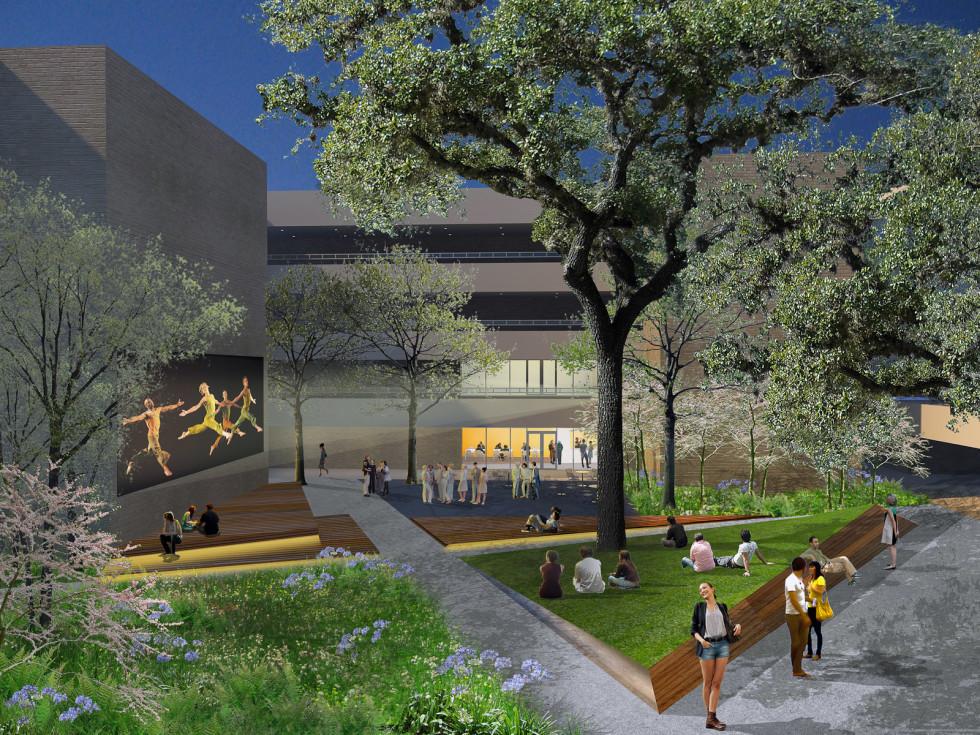 News_Blaffer building_courtyard