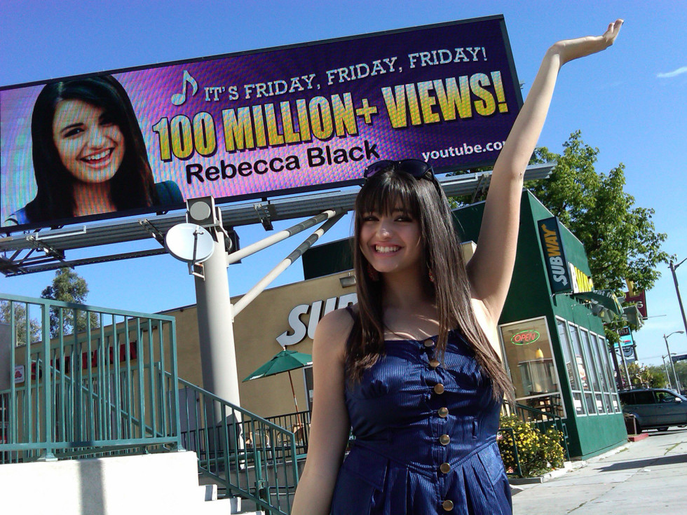 News_Rebecca Black_Friday