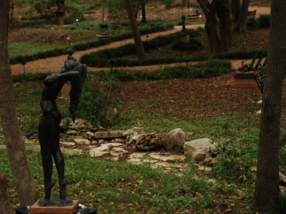 Austin Photo: Places_Arts_Umlauf_Sculpture_Garden