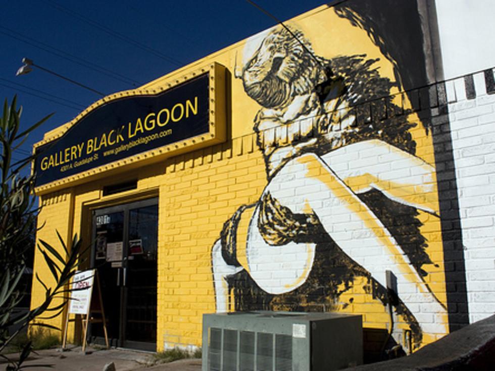 Austin photo: Places_Arts_Gallery_Black_Lagoon_Exterior