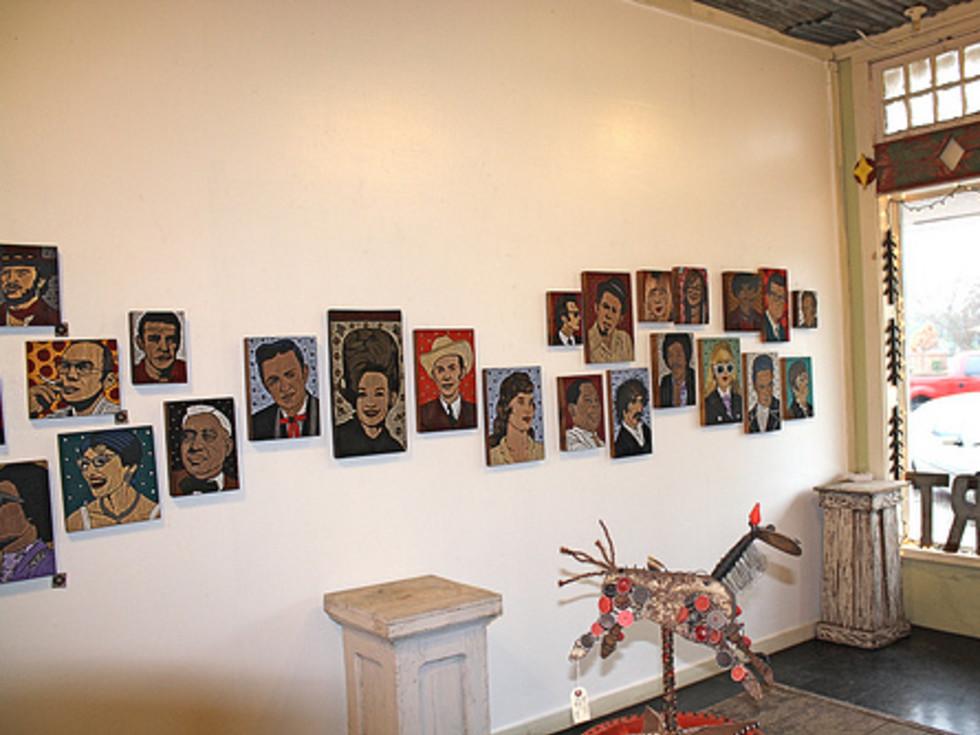 Austin photo: Places_Arts_Yard_Dog_Gallery_Exhibit
