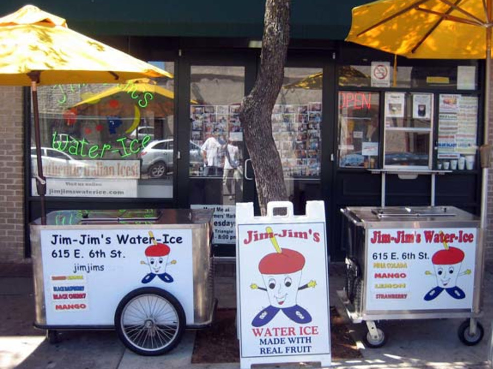 Austin Photo: Places_Food_jim_jims_water_ice_store