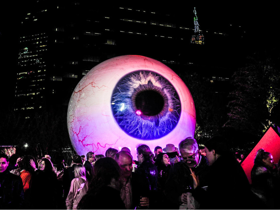 the eye ball