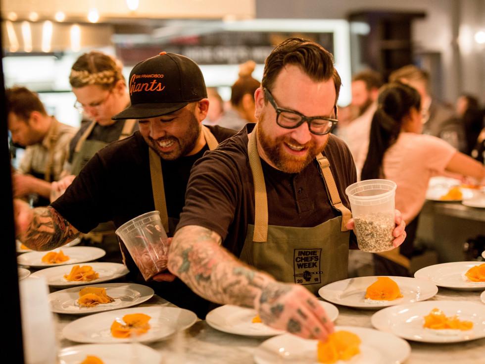 Indie Chefs Week plating