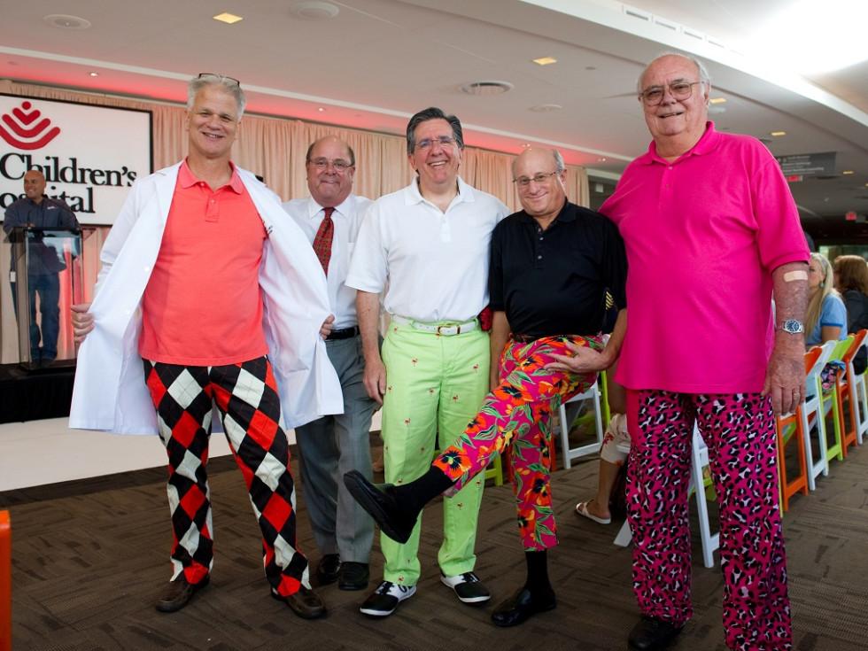 Bad Pants Fashion Show, Texas Children's Hospital,Stephen Welty, Moose Rosenfeld, Les Fox, Bob Frank, Bill Spillman.
