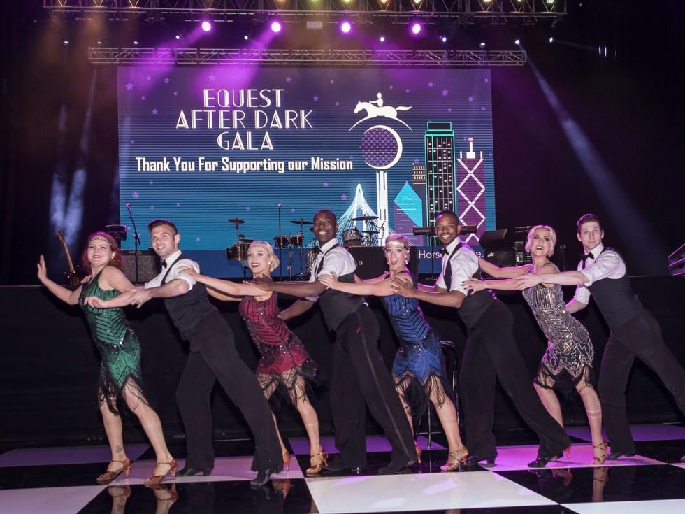 Equest After Dark Gala 2018,Arthur Murray Dancers