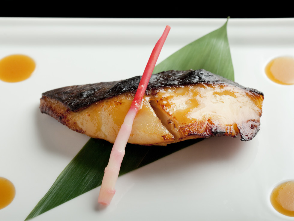 Nobu Black cod with miso