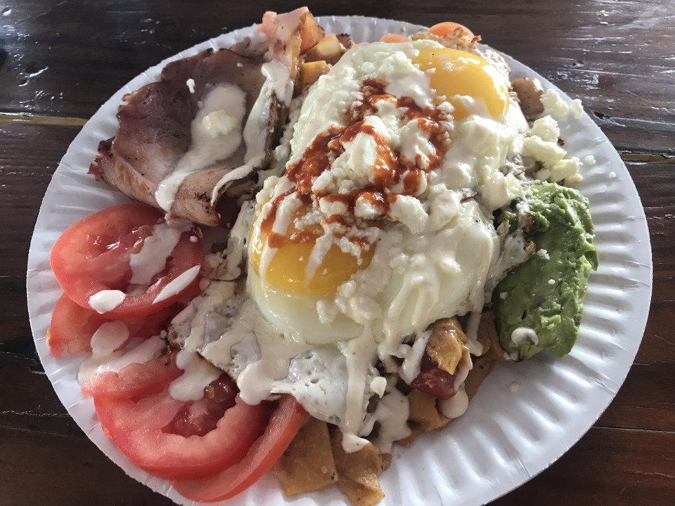 Anthony Calleo chilaquiles