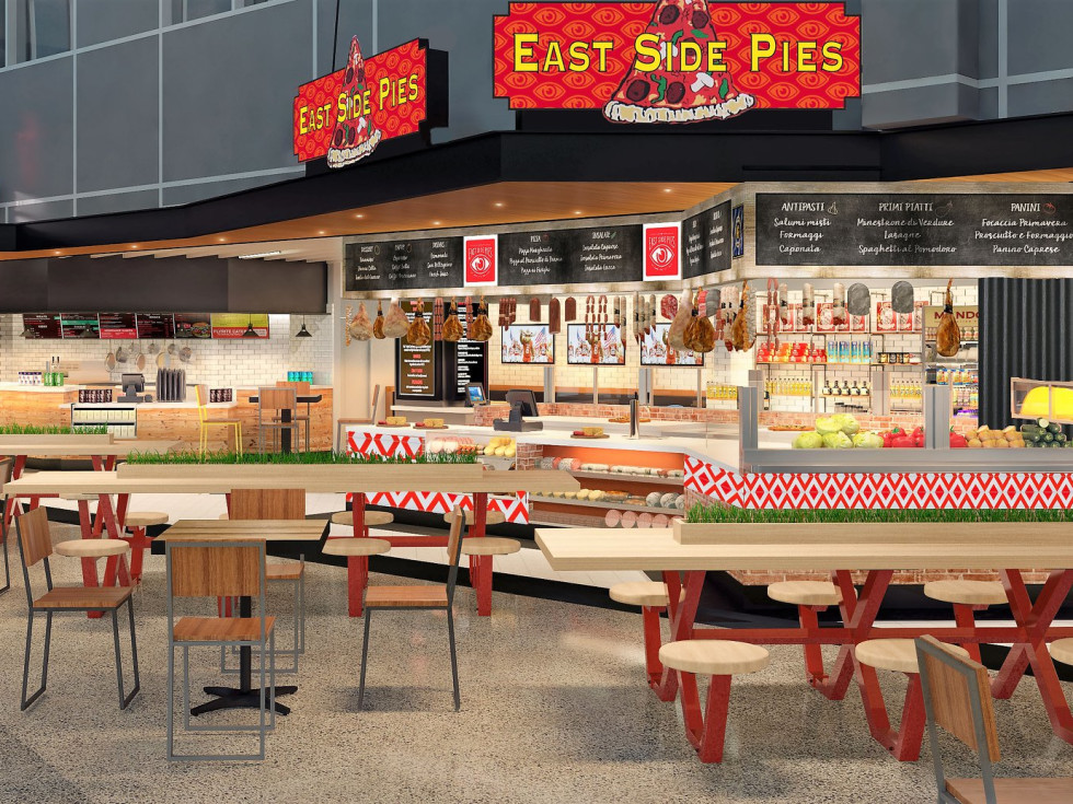 East Side Pies ABIA airport
