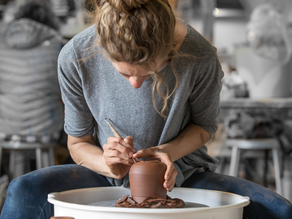 Taos Clay pottery classes