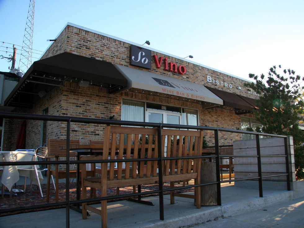 Places-Drinks-So Vino Bistro & Wine Bar-exterior-1