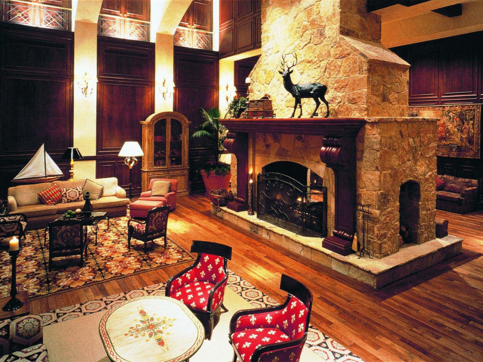 Places-Hotels/Spas-The Houstonian Hotel, Club & Spa lobby