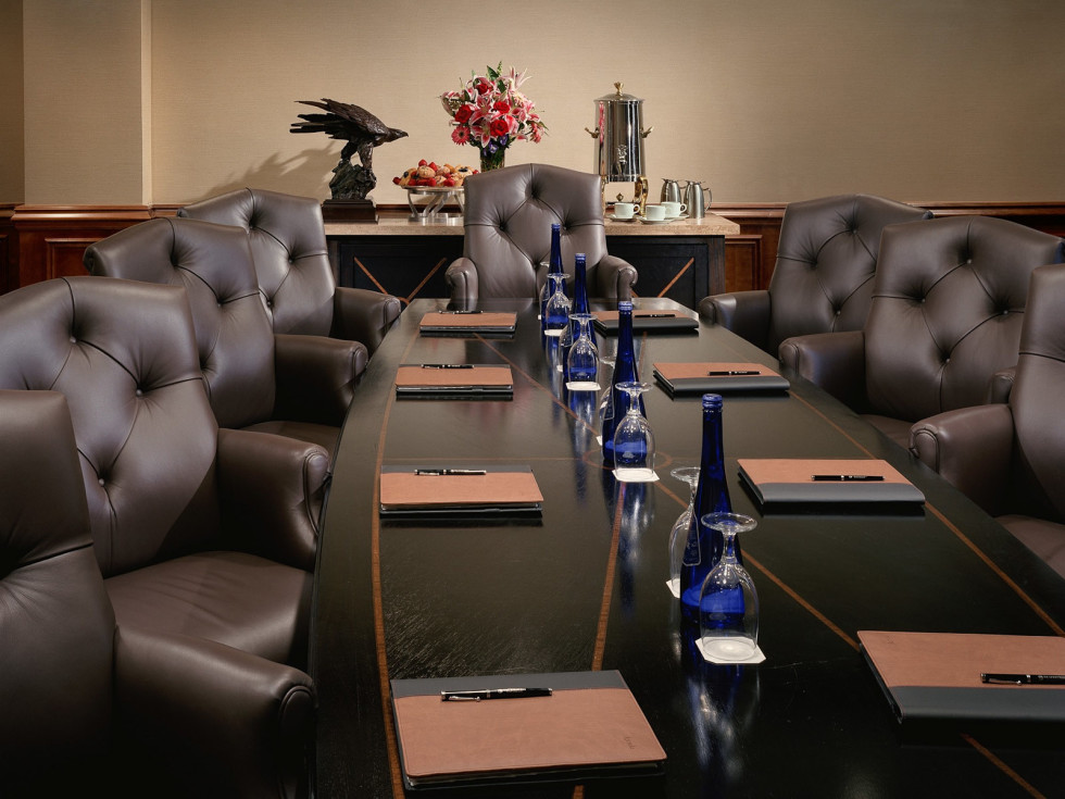 Places-Hotels/Spas-The Houstonian Hotel, Club & Spa boardroom