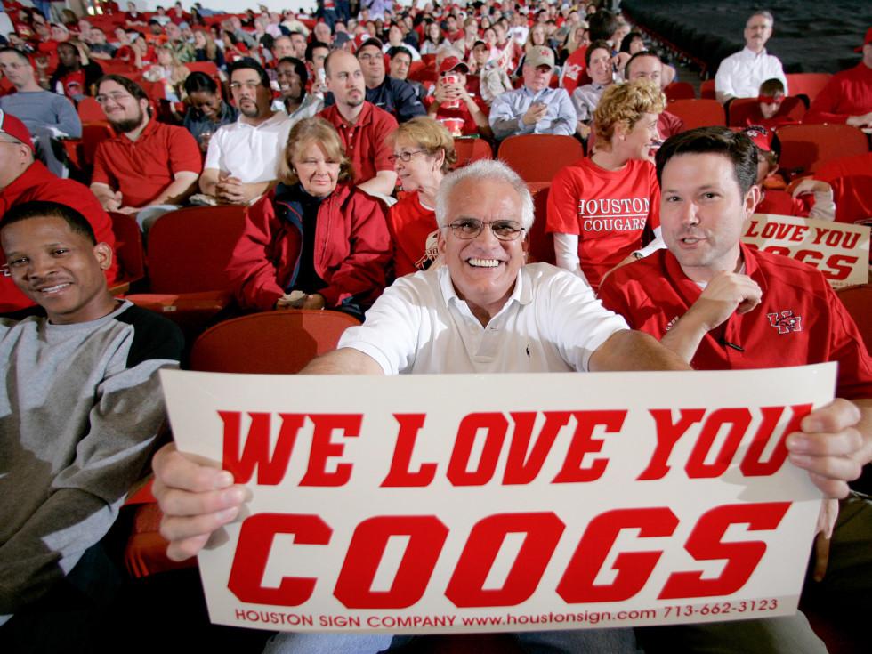 Places-Unique-University of Houston-Cougar fans