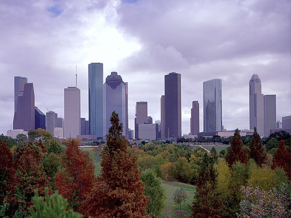 News_Ralph Bivins_011110_economic forcast_Downtown_Skyline_from_Buffalo_Bayou_Park