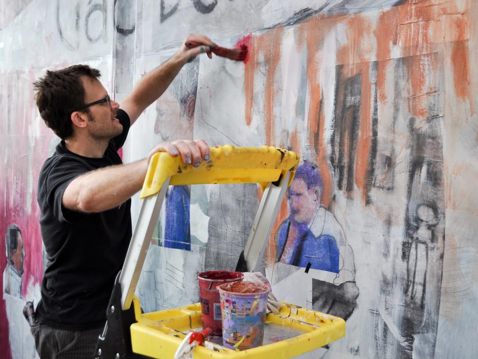 News_John Palmer_new mural_2_Ciao Bello