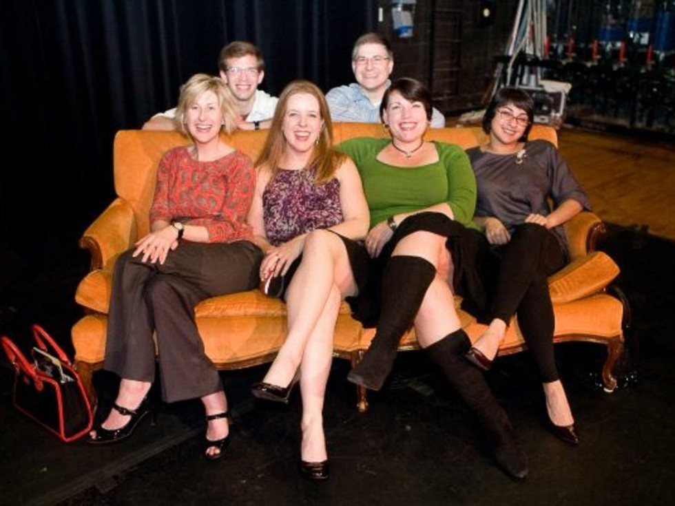 News_Nancy Wozny_young professionals_Dominic Walsh_Friday Night Casting_Gregory Krueger_Vincent Zontini_front_Nicole Longnecker_Jessica Walters_Erin Nies_Hala Daher