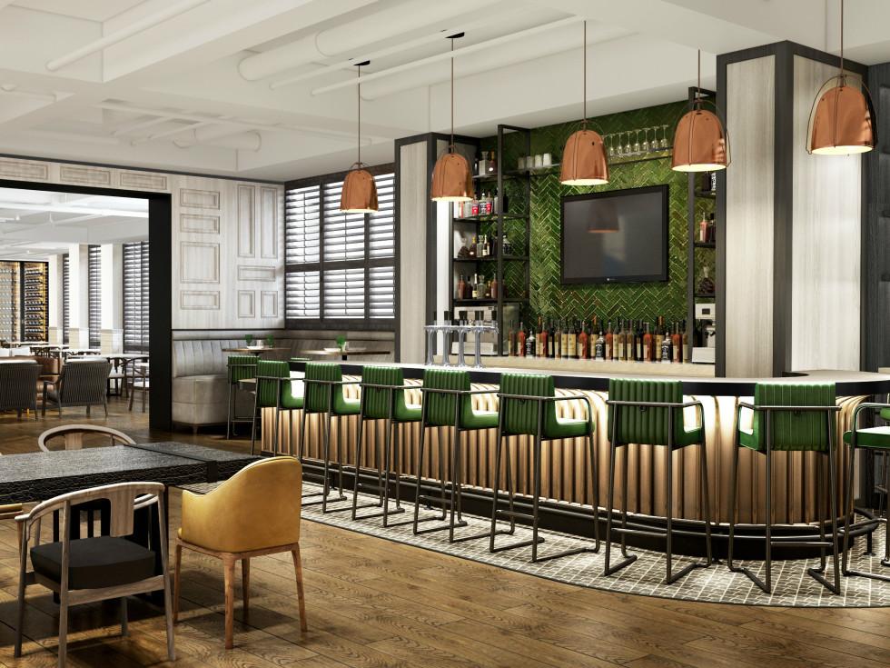 Omni Houston new coffee bar